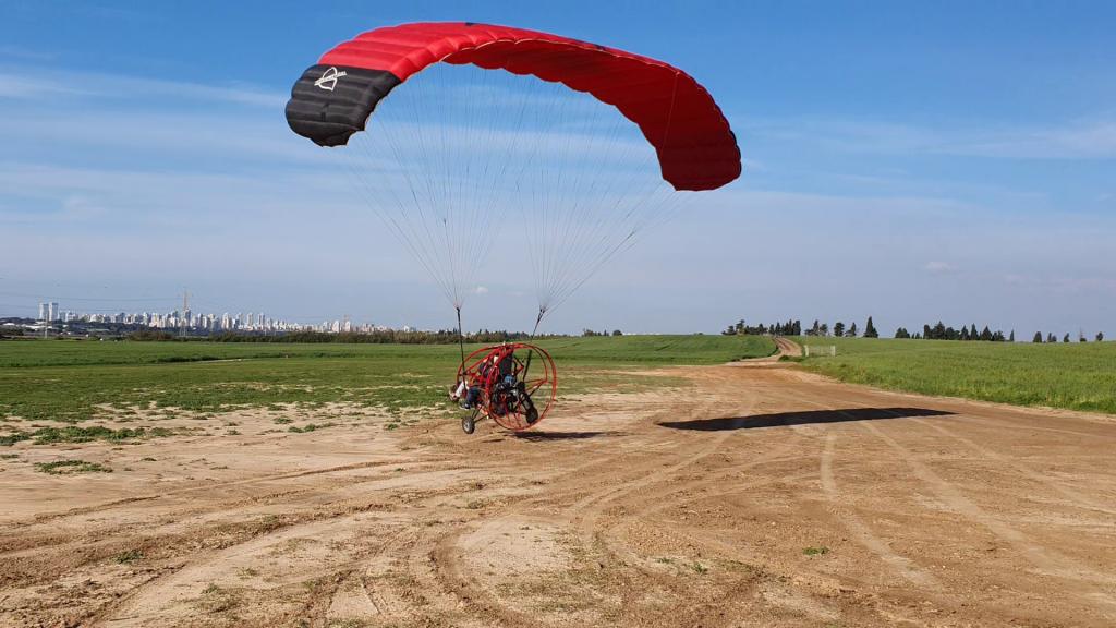טרקטורון מעופף במנחת רונית